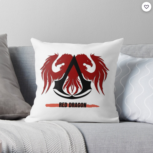 Check out Red Dragon Throw Pillow! Available Now   #AnxietyMakesMe #XMenVote @bighit #awesamtwtselfieday @xiao #아이유_Celebrity_6시발매 @YG Plus #CelebrityIU @taeyong @Beal @Muzzin @Tkachuk #thankyoudavidfisman #LeafsForever #HolocaustMemorialDay @Jenrick