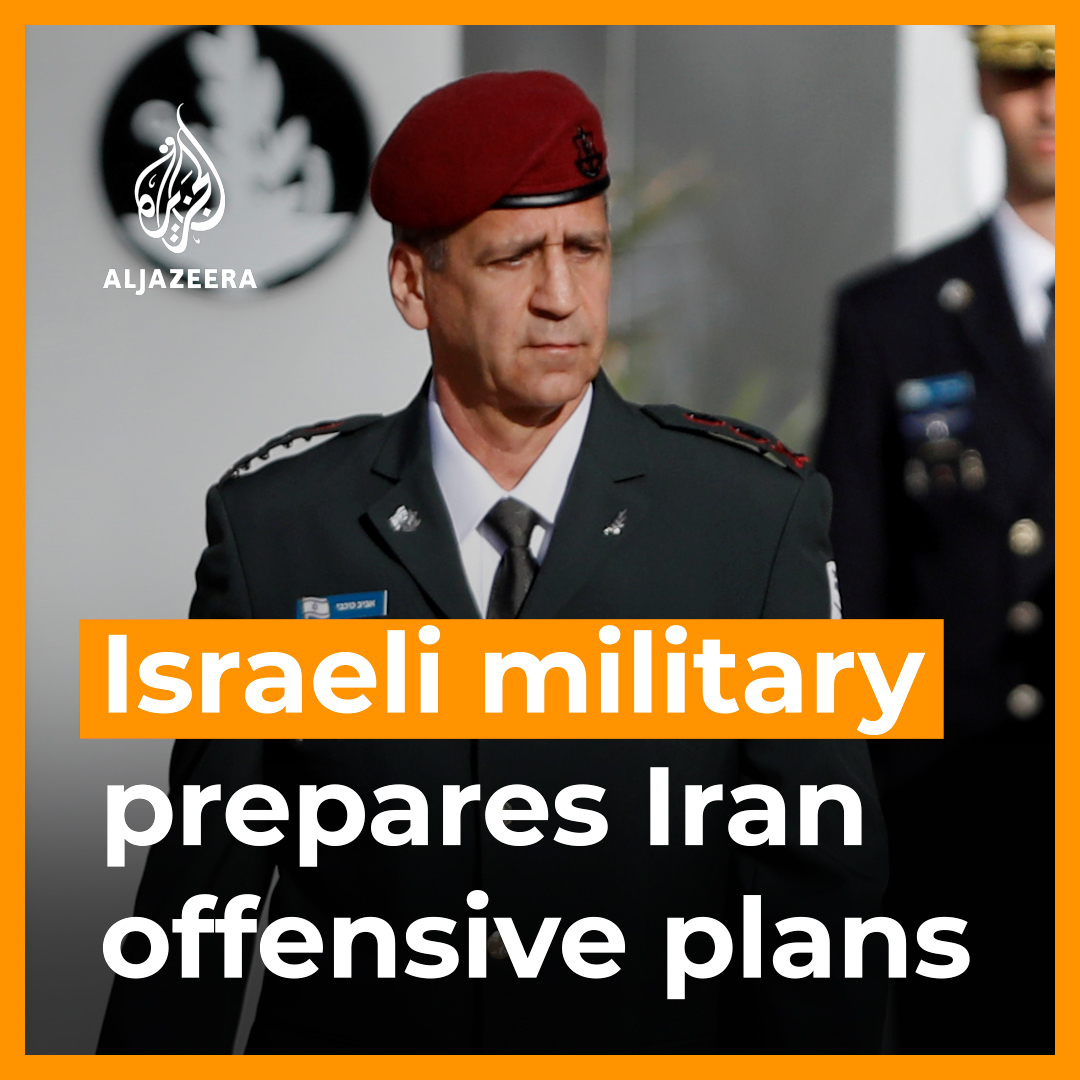 Israel's military chief says he's ordered preparation of plans for a possible attack against Iran, and warns the new US administration against rejoining the 2015 nuclear deal. Read more: