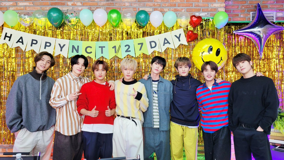 RT NCTsmtown_127: 💚#NCT127DAY💚  #NCT127 #NCT #들어_축배_127데이