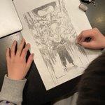 漫画家、二ノ宮知子さんの息子さんの絵心に驚愕!呪術廻戦の絵がうますぎると話題!
