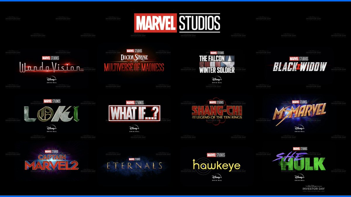 I think it's fair to say @MarvelStudios announced a shed load of shows in 2020. We asked @weeclaire which projects we should be most looking forward to on the latest episode of the pod