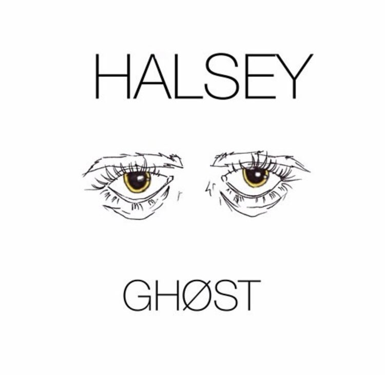 January 27 2014, @halsey released her first ever single Ghost.  It was released again under her record label later in 2014.