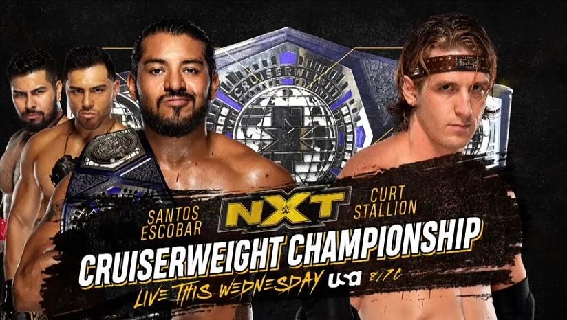 Update on Tonight's NXT Cruiserweight Title Match