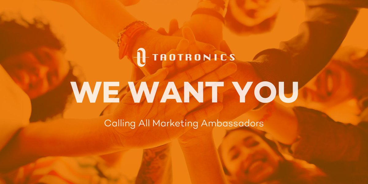 📣 Calling All Marketing Ambassadors! 📣 Do you want to be among the first to test our new products? Are you a great influencer? If the answer to both is yes, we'd love to work with you! 🤝 Click on the survey to apply. 👉 https://t.co/ceDlSysV1w https://t.co/VUqIIMU4yy