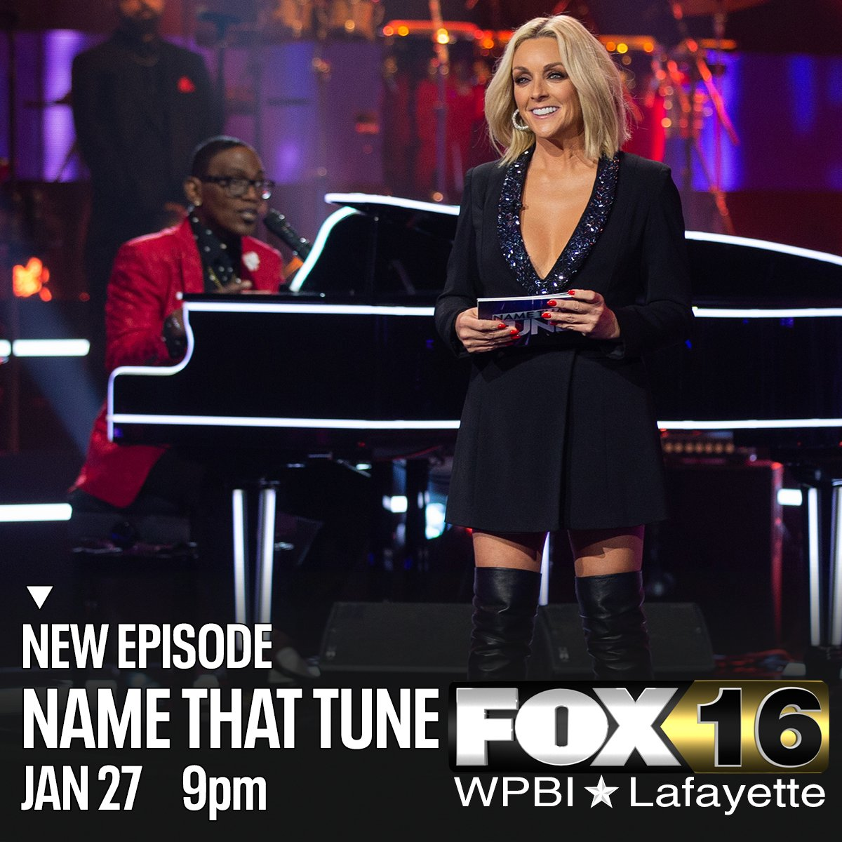 Make a note to catch Bid-A-Note on a new episode of #NameThatTune with #RandyJackson and #JaneKrakowski -- tonight at 9 on WPBI FOX16.