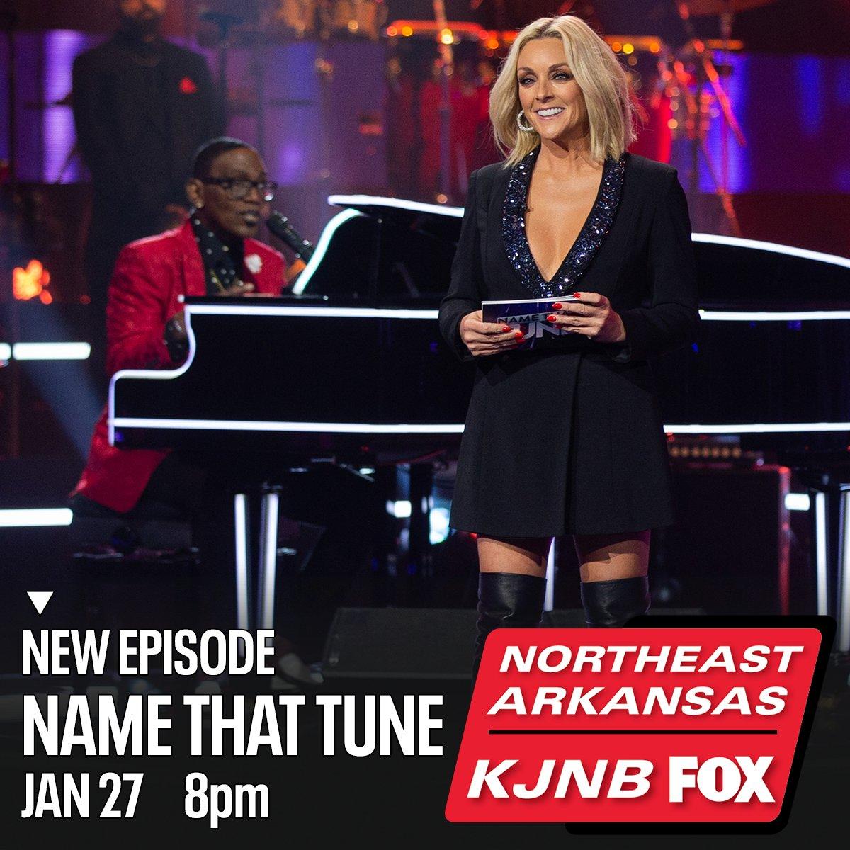 Make a note to catch Bid-A-Note on a new episode of #NameThatTune with #RandyJackson and #JaneKrakowski -- tonight at 8 on KJNB Northeast Arkansas FOX.