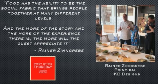 We're discussing the Sociability of #food with renown #chef ⭐Rainer Zinngrebe⭐ Don't miss out!  Listen here 👉🏻  #podcast #foodandwine #restaurant #cheflife #lifestyle #instafood #tweegram #social
