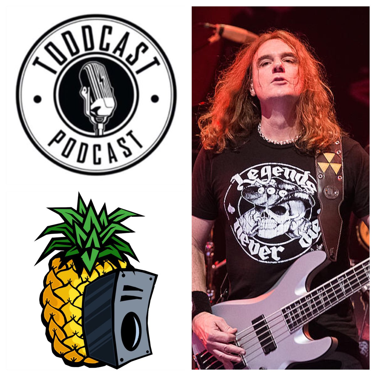 Listen to this 41 minute #podcast with#Megadeth bassist David Ellefson! We talked#KISS, #DannyMcBride shows, #nostalgia, #TheBeatles& somuchmore!    * Musical guestvisits are powered by #PineappleSoundrecording and mixing services in #Langley!