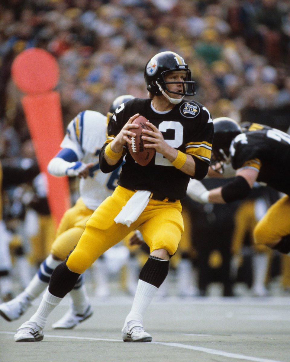 #OTD in 1970, the #Pittsburgh #Steelers draft Louisiana Tech QB first overall. He would become a 4 time #SuperBowl Champion 2 time Super Bowl #MVP and Hall of Famer. #HereWeGo #NFL #NFLTwitter