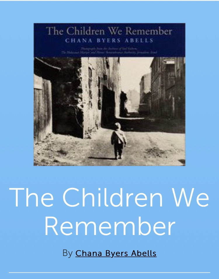 I used to read this book on Remembrance day to my grade 7s. Heartbreaking. I offer it as a suggestion for teachers who want to teach about the  #Holocaust   #HolocaustMemorialDay  #HolocaustRemembranceDay