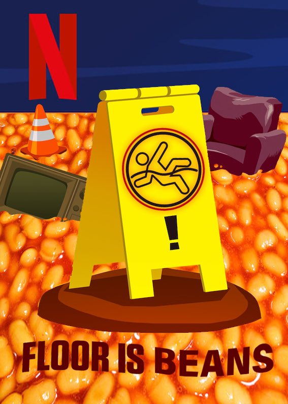 Say it with me! FLOOR. IS. BEANS. #Netflix #Beans #wednesdaythought