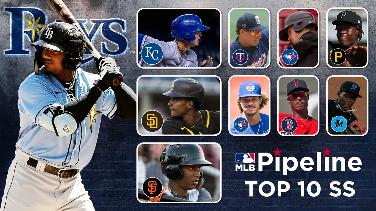 The red carpet of prospect gazing ...  Here's our list of #MLB's Top 10 shortstop prospects: