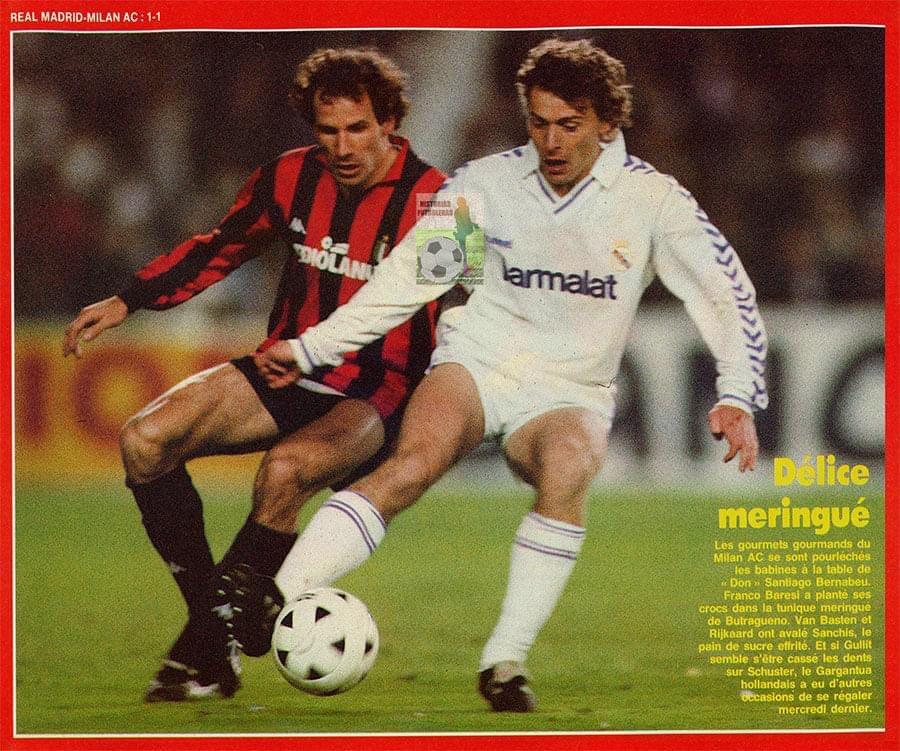 #RealMadrid v #ACMilan (1989).
