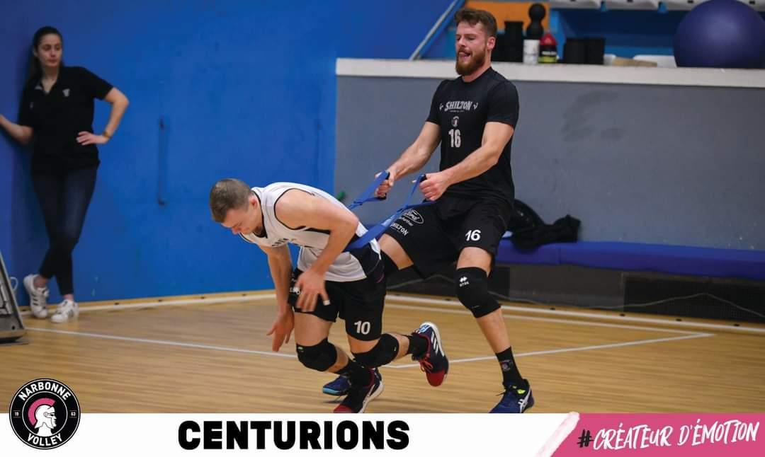 Les Centurions sont dans les starting blocks pour la dernière ligne droite du...
