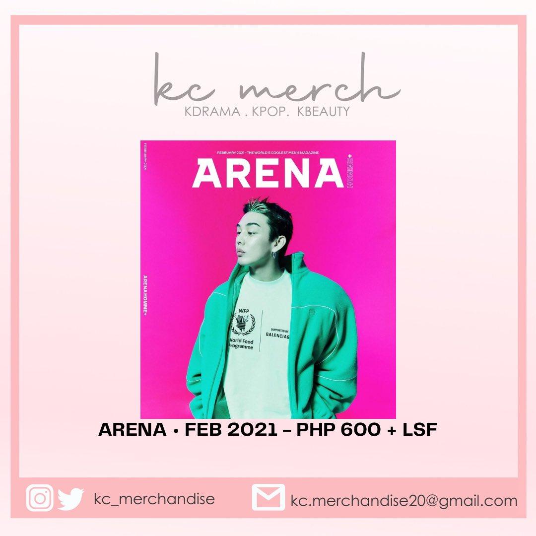 Arena Korea  PHP 600 + LSF   Cover: #YooAhIn  Inside Pages: #JiJinHee #LeeYeonHee #Straykids #Felix #Hyunjin #Mushvenom   MOP: Gcash, Paymaya, Bank Transfer, Cash on Delivery   EDA: March-April 2021
