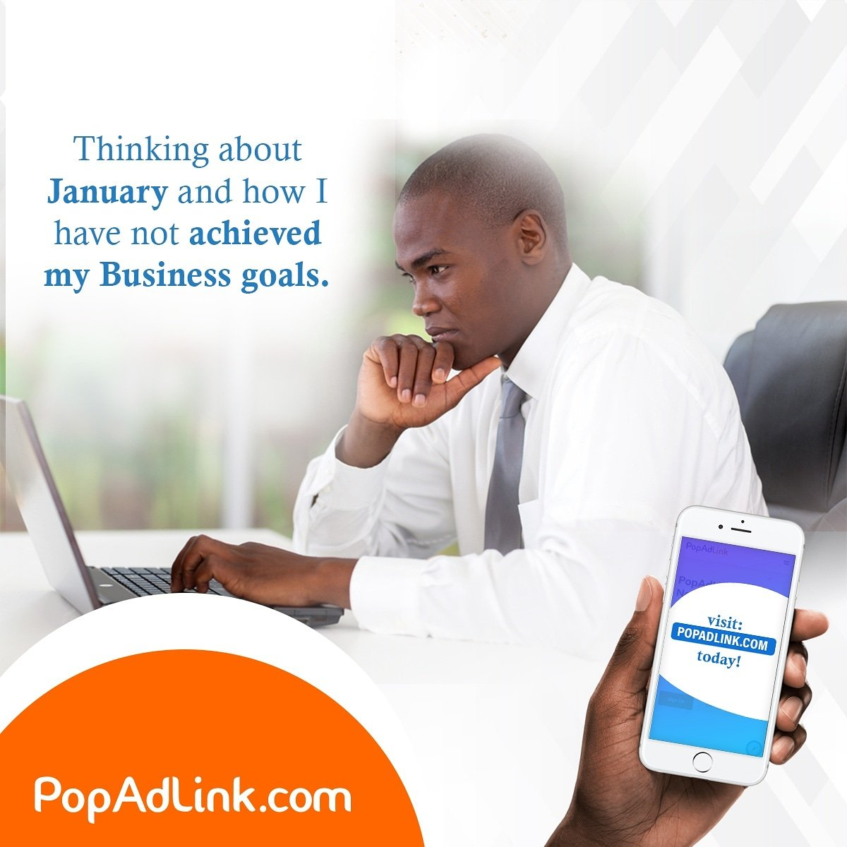 January is about to end, hope you are meeting your business goals. At  we can help you reach your target audience that will invariably lead to conversion.  #wednesday #wednesdaymotivation  #growwithpopadlink #popadlink #BusinessStrategy #businessminded