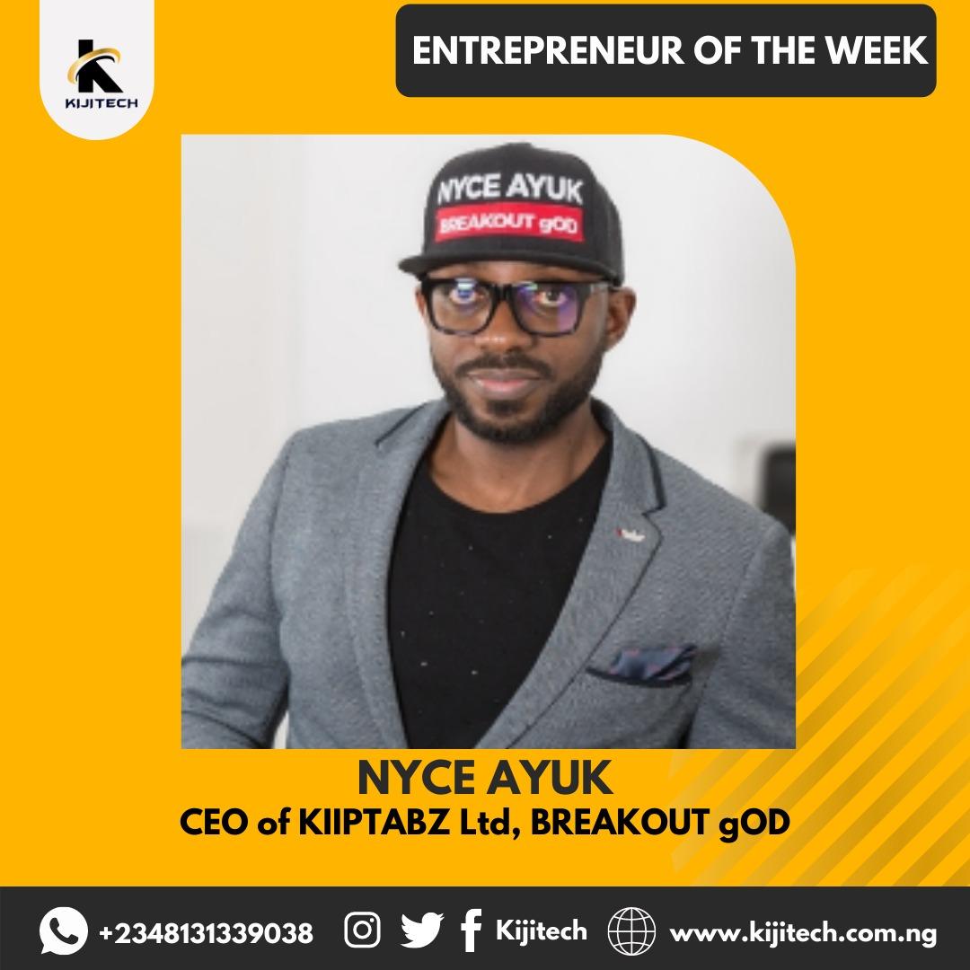 Meet the BREAKOUT gOD @nyceayuk 🙌🏼 #wednesdaythought #Wednesdayvibe  #Entrepreneurship #branding  #WhatsApp #Nigerians  Kuda Twitter NG Mark Zuckerberg