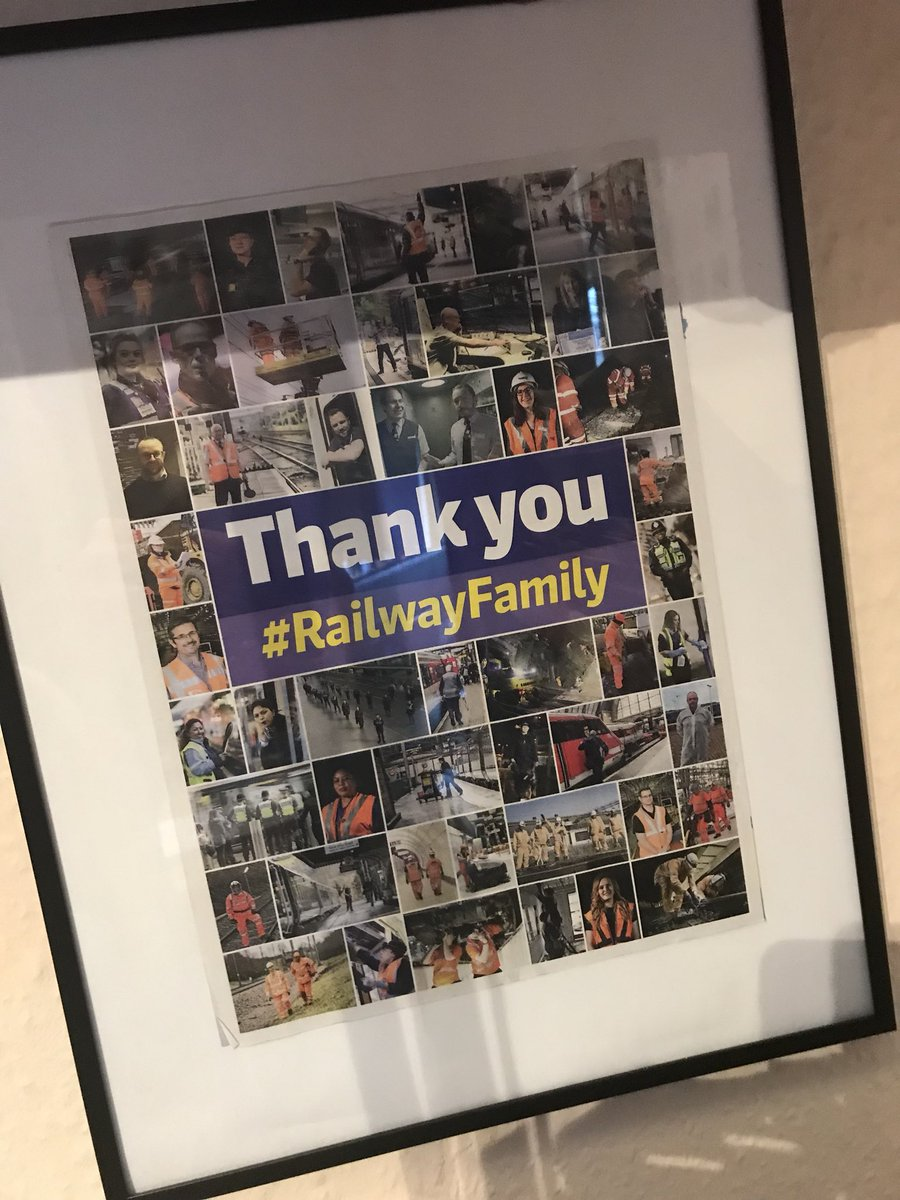 #P is for People. What I do, what drives me and keeps me coming back day after day isn't trains and railways. It is, simply put, all about the amazing people. (Photo of the back cover of @RAIL during the first lockdown)  #ChaplaincyAtoZ