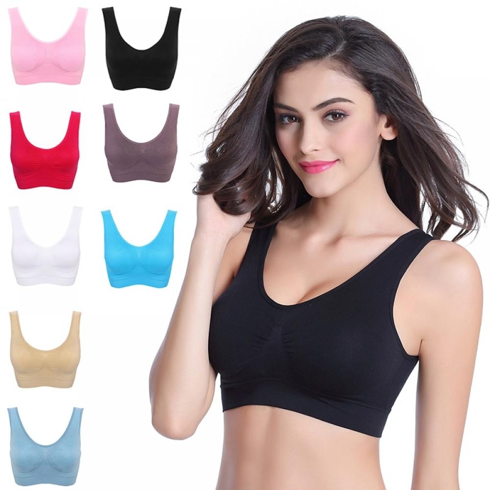 #boutique #fatbabe Women's Colorful Plus Size Elastic Bra