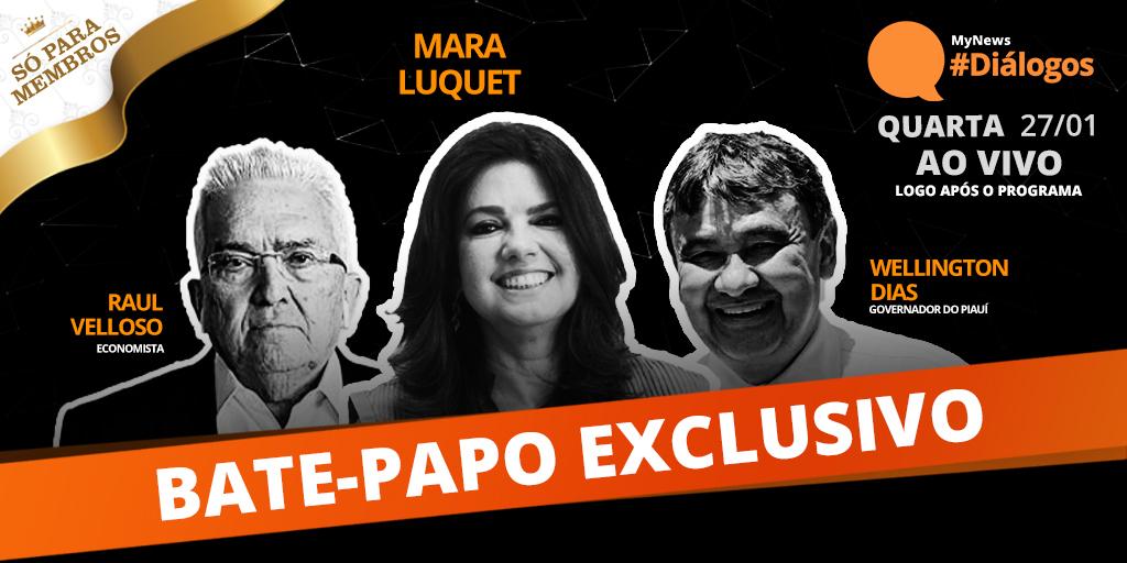 Depois do programa, o #Diálogos continua num bate-papo exclusivo, também mediado por @MaraLuquet, onde os membros podem fazer perguntas e comentários para os convidados do programa, @wdiaspi e Raul Velloso. Seja membro e acompanhe: .