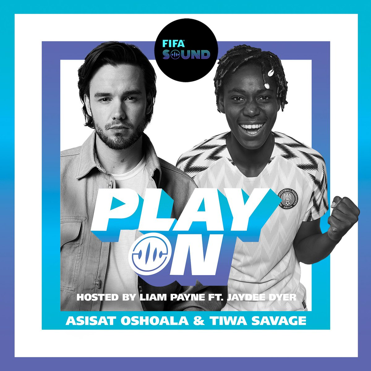 Joining me on this week's episode of the FIFA PlayOn podcast are @AsisatOshoala & @TiwaSavage 🙌🏼 Hear how the two are changing the game for football and music in Nigeria, Africa, and beyond https://t.co/KBoXqwLX68 #fifasound #playon https://t.co/jXZKLTF4nn
