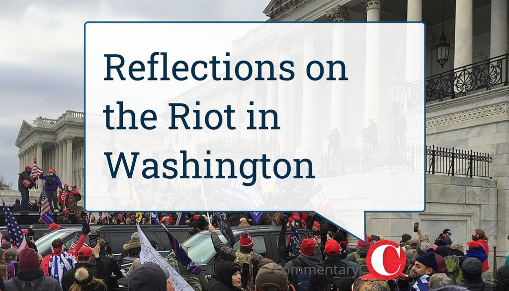 The unthinkable is no longer unthinkable once it has been tried. That is why a door to nihilistic evil, once opened, must be locked, nailed shut, epoxyed as a seal, and bricked up.  Read more 👉    #CapitolBuilding #Riot #DonaldTrump #Impeachment