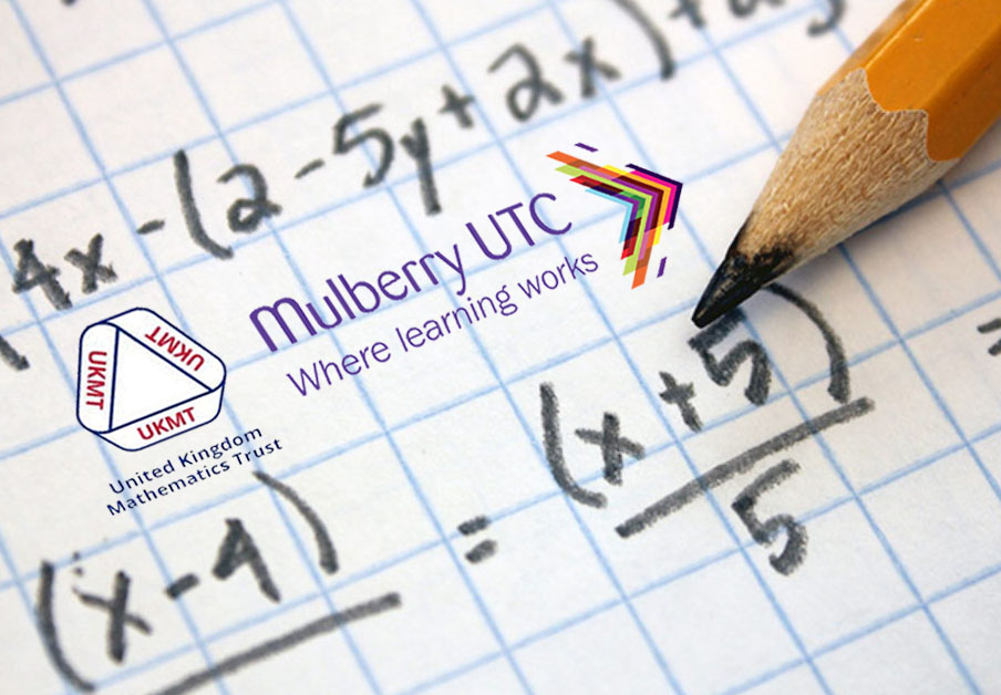 Wishing the best of luck to our selected Y10s and Y11s @MulberryUTC who are taking part in the UK Intermediate Mathematical Challenge @UKMathsTrust during the next week!  #mutc #utc #wherelearningworks