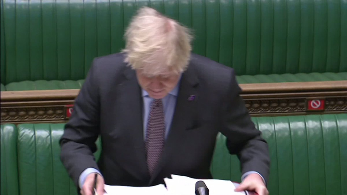 Boris Johnson says he understands the frustrations of families who do not have laptop computers to aid home learning.  #PMQs