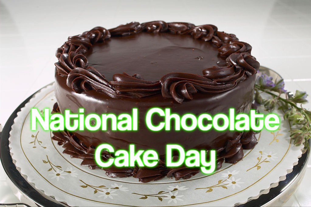 Today is #NationalChocolateCakeDay It's one of the nation's most popular deserts and snacks. Chocolate cake exploded in the early 20th Century when @BettyCrocker and other released chocolate cake mix in box form. #wednesdaythought #ArmyTeamNashville #92G