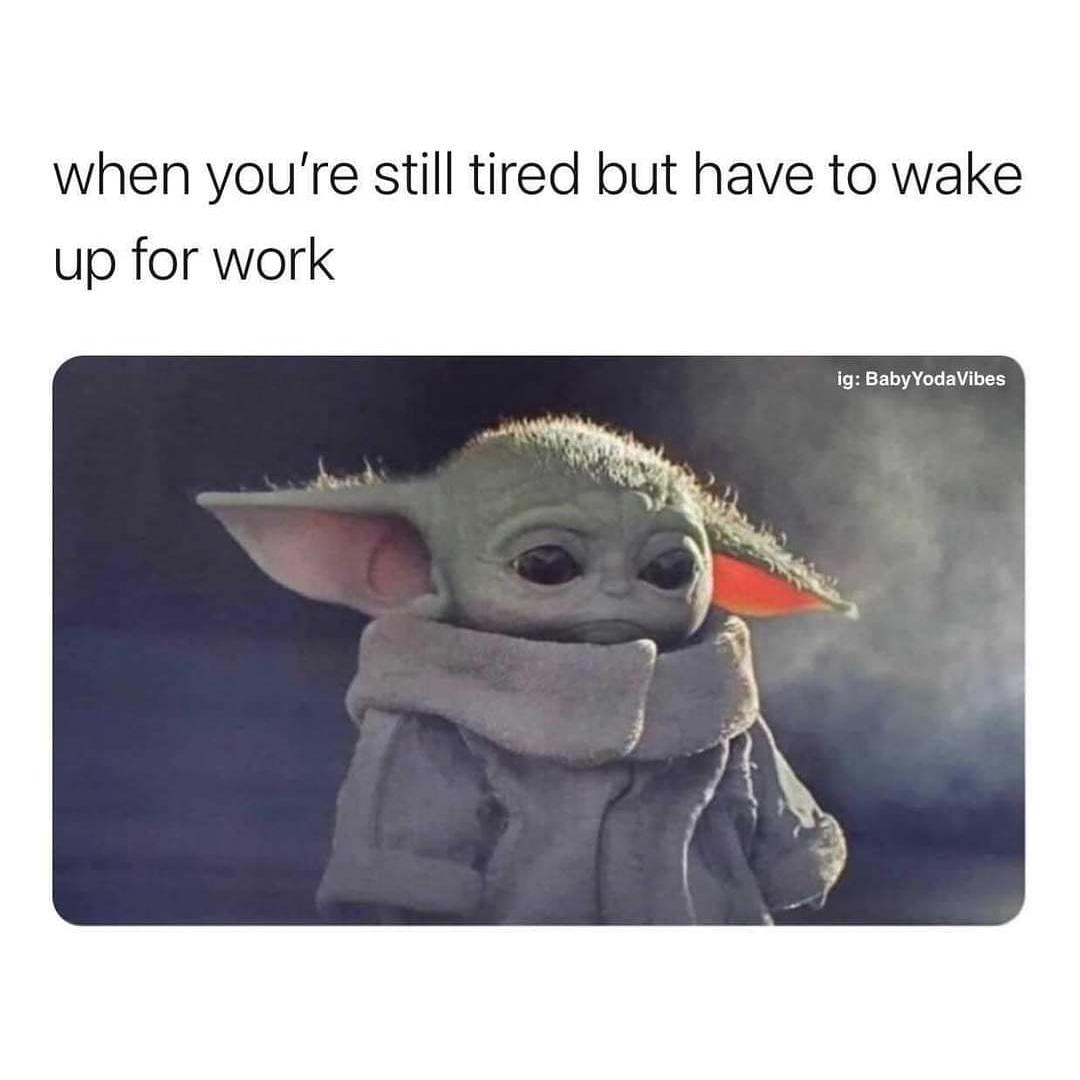 That mid-week feeling 😴😴😴😴 #wednesdaythought #morningshift