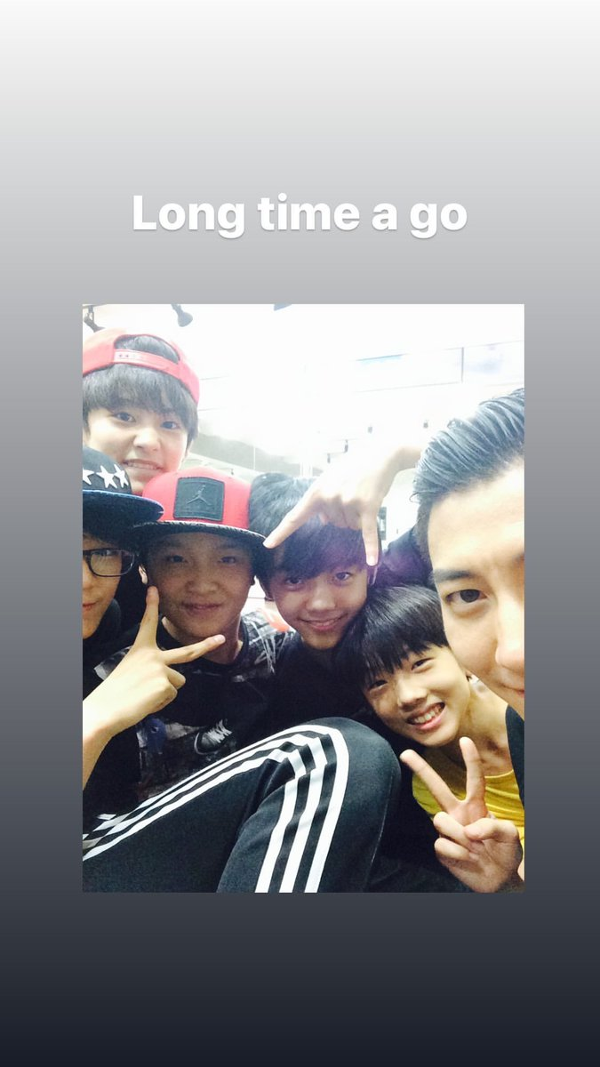 """INSTA   27.01.21  Mise à jour du compte instagram de """"lockingkhan"""" avec une photo de plusieurs membres des Dreams, dont #Jaemin 😊💚  📎   #NCT #NCTDREAM  #Luna"""