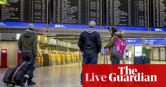 Coronavirus live news: Germany to announce tighter border controls; AstraZeneca meeting with EU delayed Photo