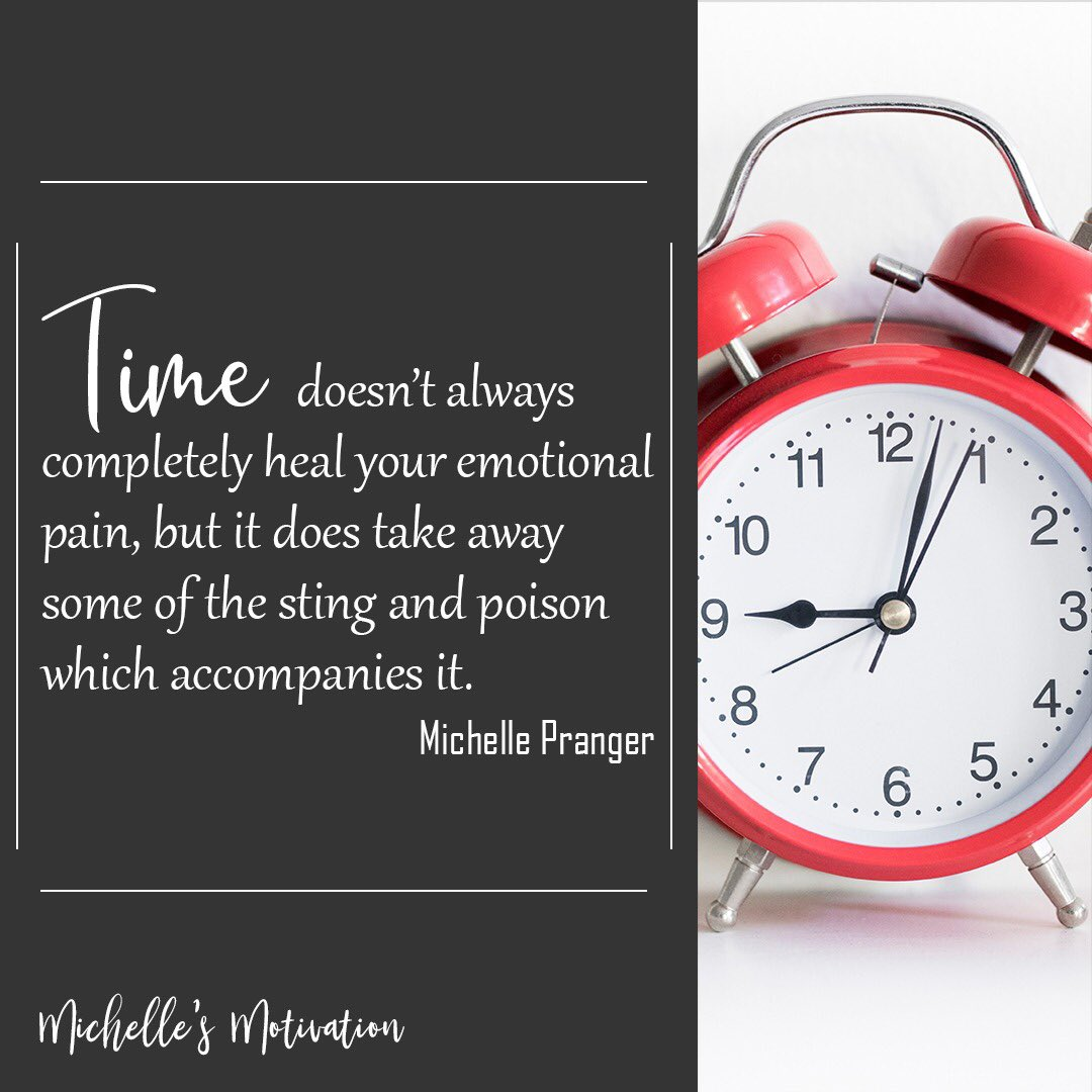 Time doesn't always completely heal your emotional pain, but it does take away some of the sting and poison which accompanies it.##wellness #mentalhealth  #self-care #wellbeing #motivational  #inspirational  #meditation #selflove #motivationalwriting #dailymantra #quotes https://t.co/e85Br0pHEt