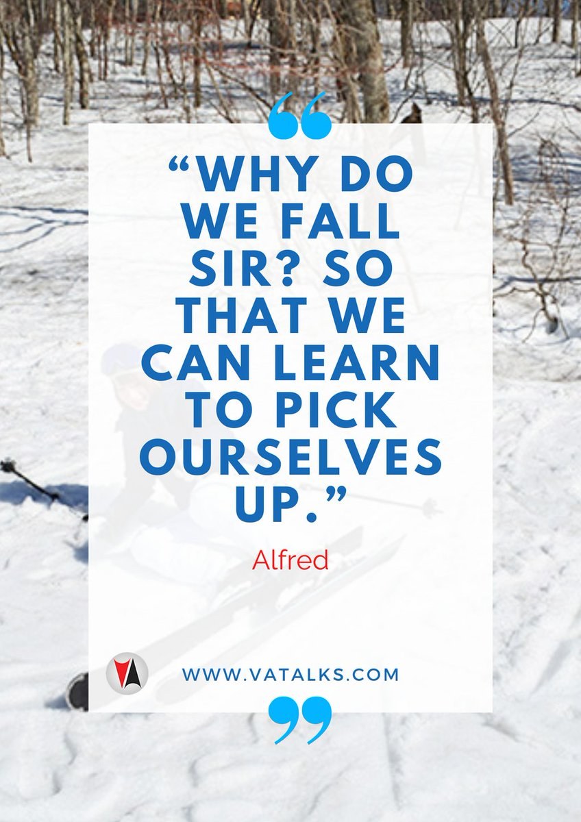 """""""Why do we fall sir? So that we can learn to pick ourselves up."""" - Alfred  #WednesdayWisdom #influencer #thankful #life #happy #fun #love #instagood #nofilter #photooftheday #igers #picoftheday #lifeisgood #instapic #instadaily #instamood #bestoftheday #followme"""