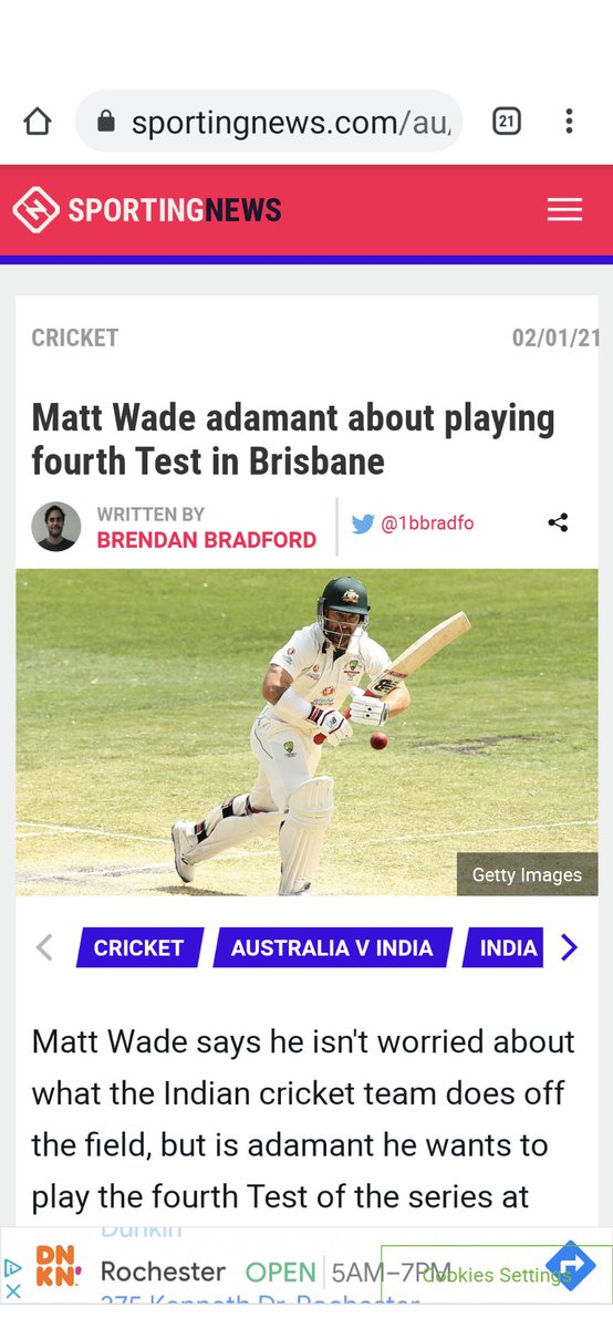 @MatthewWade13 hope your wishes are getting fulfilled in order. #AUSvsIND