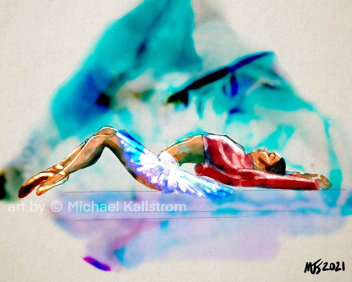 Morning Work  Some of my work is available on https://t.co/bo67fHYDel   #thedailysketch #drawing #artgallery #painting #art #artist #Procreate #digitalart #portrait #creative #inspiration #artoftheday #portrait #portraitpainting  #ballet #ballerina https://t.co/cQY9si0oze