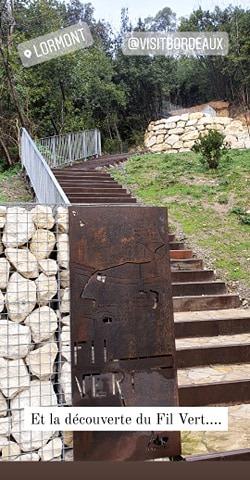 Malgré la pluie fine, découverte du sentier du Fil Vert qui traverse la commune depuis Cenon jusqu'à Bassens, en passant par le Vieux-Bourg ! #Environnement #FilVert #Lormont #Gironde #vsite #patrimoine #tourisme @VisitBordeaux https://t.co/v5FkssENBL