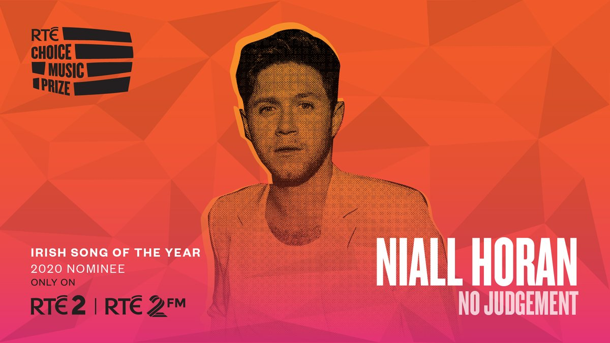 Congratulations to @NiallOfficial on his #RTEChoicePrize Song of the Year 2020 nomination for 'No Judgement'.  Don't forget to vote for your favourite right here 👉
