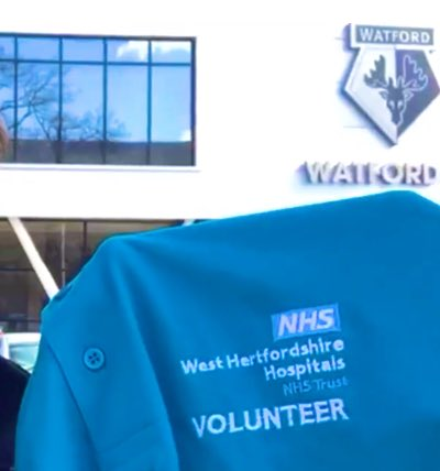 Because we are one Trust and we pride ourselves in delivering excellent care across all our sites!   A heartfelt thank you to our extremely  kind and hard working Team of @WHHTVolunteer   #BeKind #volunteer 💙