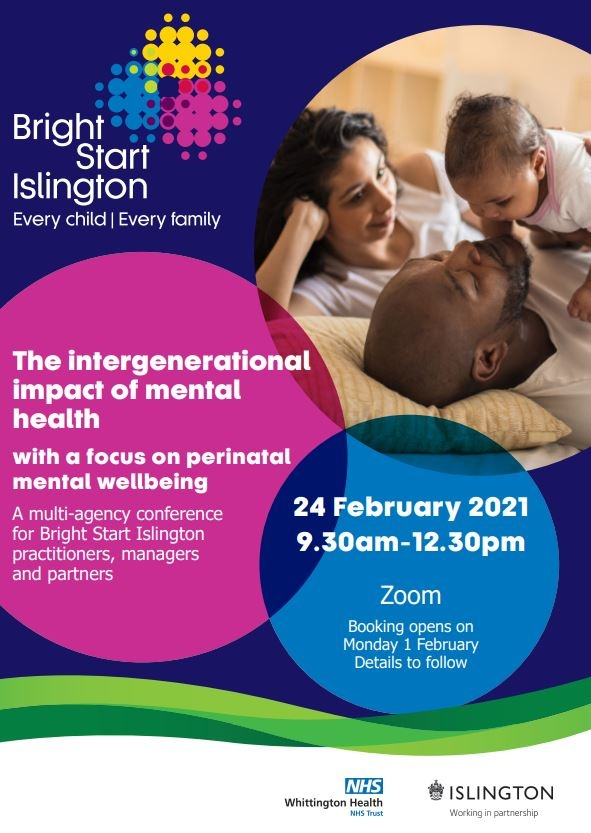 Very interesting conference coming up in a few weeks time for Islington parents....