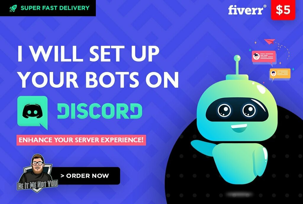 Check out my Gig on Fiverr: set up your bots on discord      #discord #twitch #memes #discordserver #gaming #youtube #fortnite #ps #dankmemes #smii #pc #minecraft #gamer #xboxone #offensivememes #r #xbox #dank #edgymemes #explorepage #pubg #csgo #game #me…