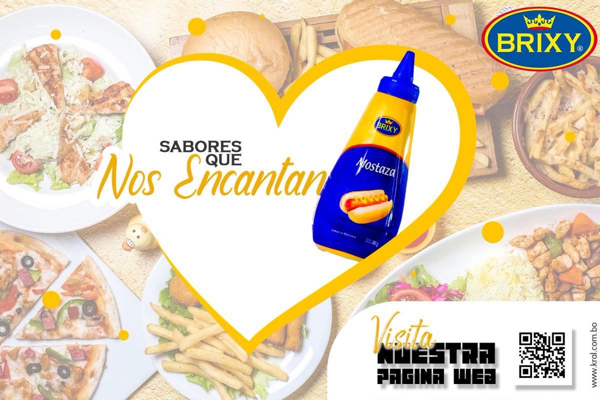 Encuentra el sabor de BRIXY en los supermercados más cercanos de tu barrio🥰 VISITA NUESTRA WEB😎:   💙💙INDUSTRIAS KRAL💙💙   #SalsasBrixy #mayonesas #ketchupandmustard #foodpics #foodstagram #comidadeverdade #lovefood #yummy😋😋 #yummylicious #yummy😋