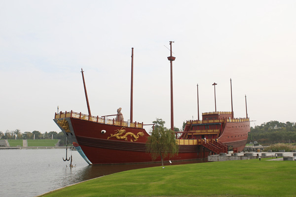 #ICYMI Want to know more about Zheng He's fables Treasure Ships? Then  dive on over to  to find out more! 🇨🇳 ⛵🌍  #GetImmersed #immersed #maritime #archaeology #history #seafaring #China #Indianocean #blog (📸  @SarahWardAU)