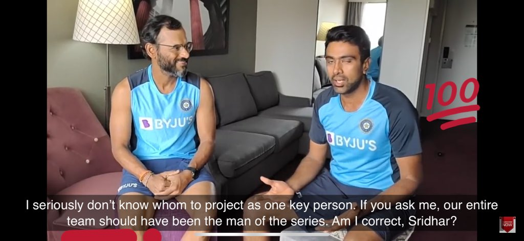 We all agree @ashwinravi99 - the entire team is the man of the series! #INDvsAUSTest