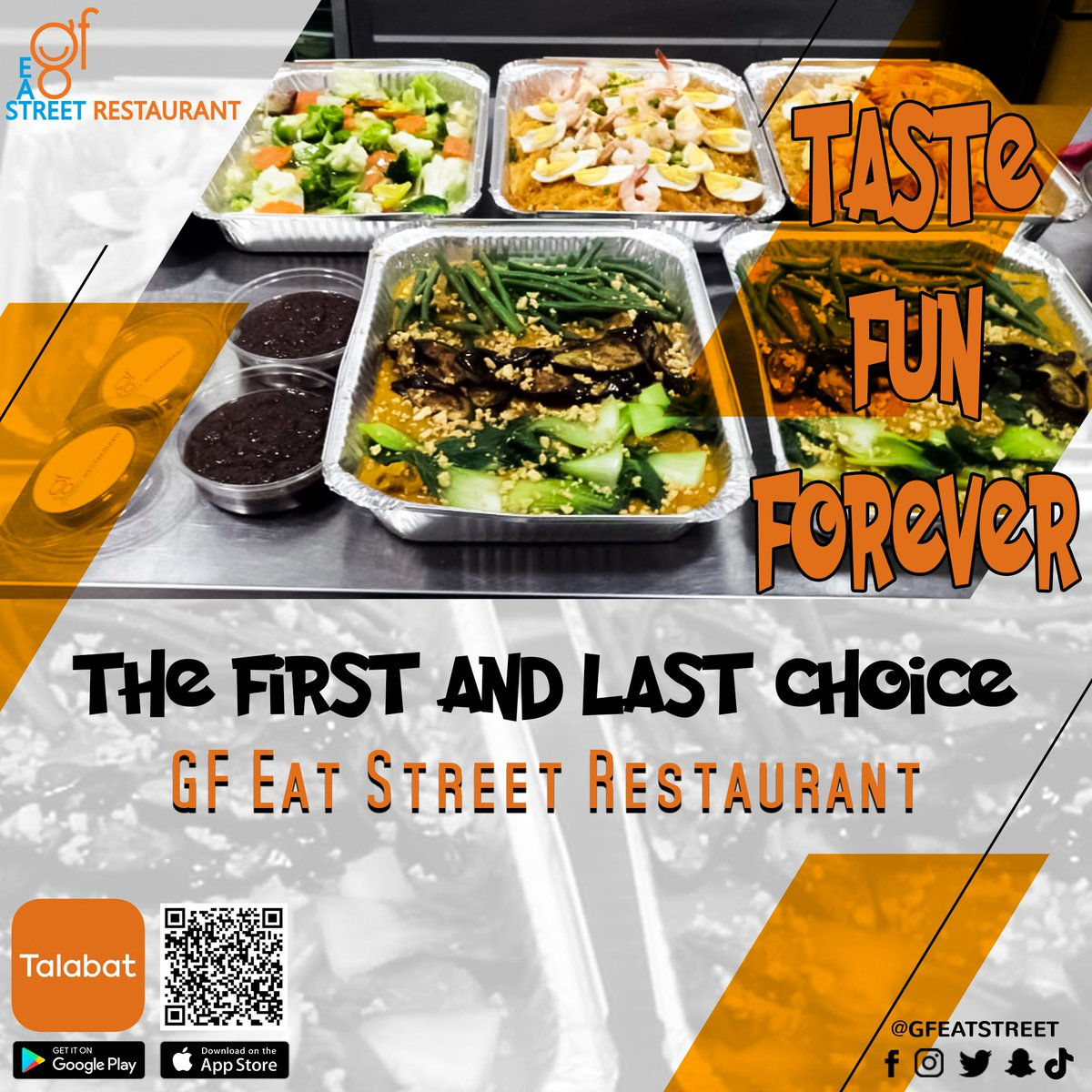 The first and last choice 😎 Gfeatstreet❤️ #gfeatstreet #tastyfood #talabat #asianfood #chinese #japanese #thaifood #filipino #tiktok #uae #ajman #rak #dubai🇦🇪 #abudhabi #delivery #sharjah #Talabat #discount #freshandhot #yummy #uaerestaurants #ajmanrestaurants #ajmanfood #alain