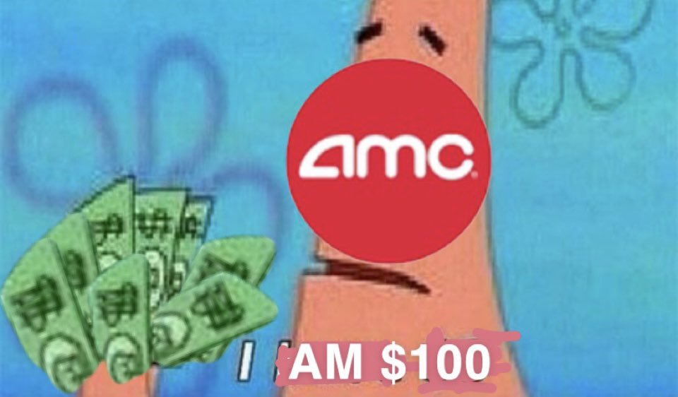 #SaveAMC $AMC THIS WILL BE $100 EOD AND ITS ONLY THE START 🚀🚀🚀🚀 WE'RE GOING PAST THE MOON TO THE FUCKING SUN