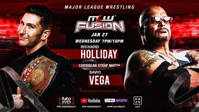 MLW Fusion Preview (1/27): Caribbean Strap Match Main Event, AAA Cruiserweight Challenge, More