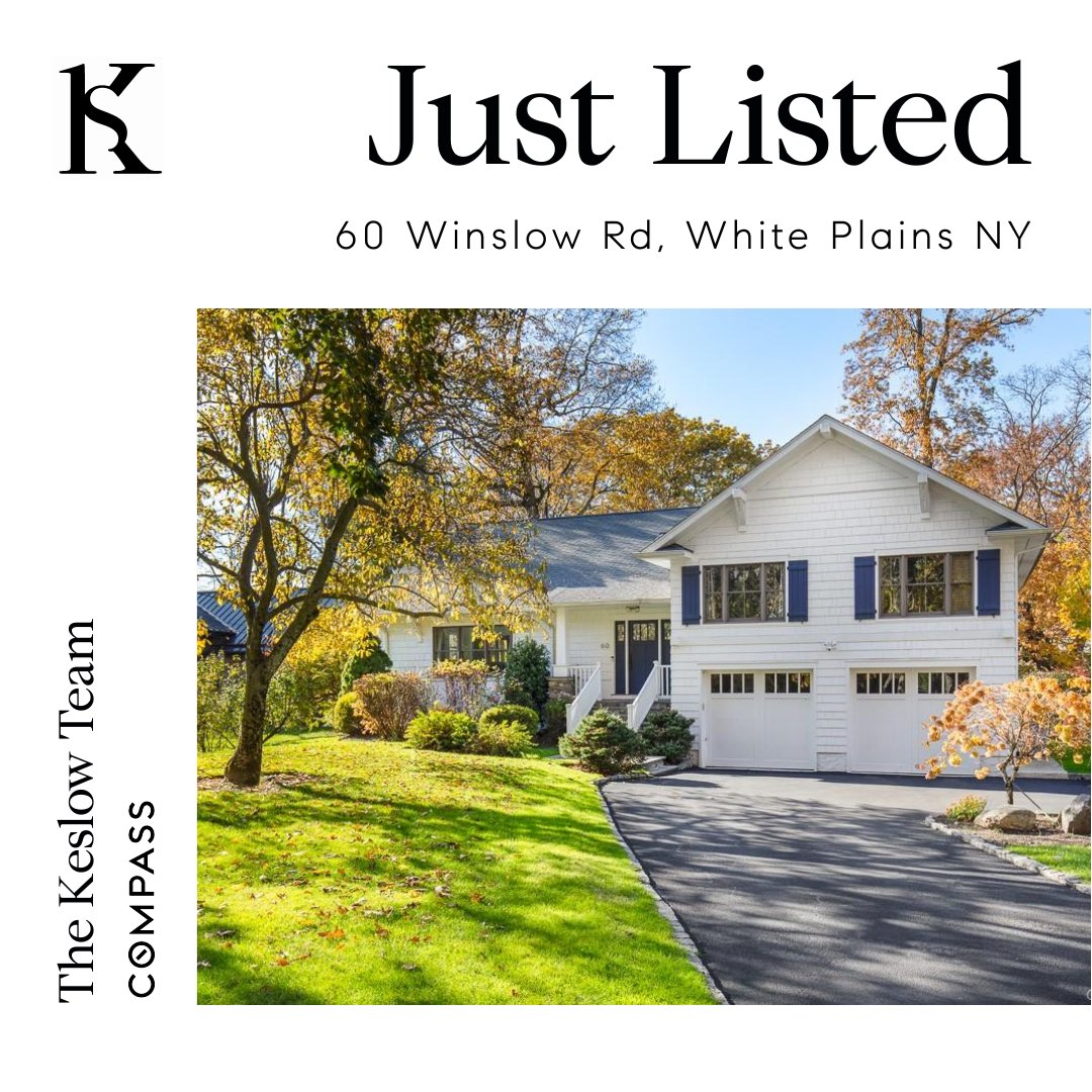 Just listed 60 Winslow Road in White Plains. DM me for your private exclusive showing today! • • • #thekeslowteam #compass #realestate #compassrealty #westchesterny #westchester #ny #newyork #realty #whiteplains #metronorth #home #house @sethkeslow @marlamoves @compass https://t.co/pjauKAVdIq