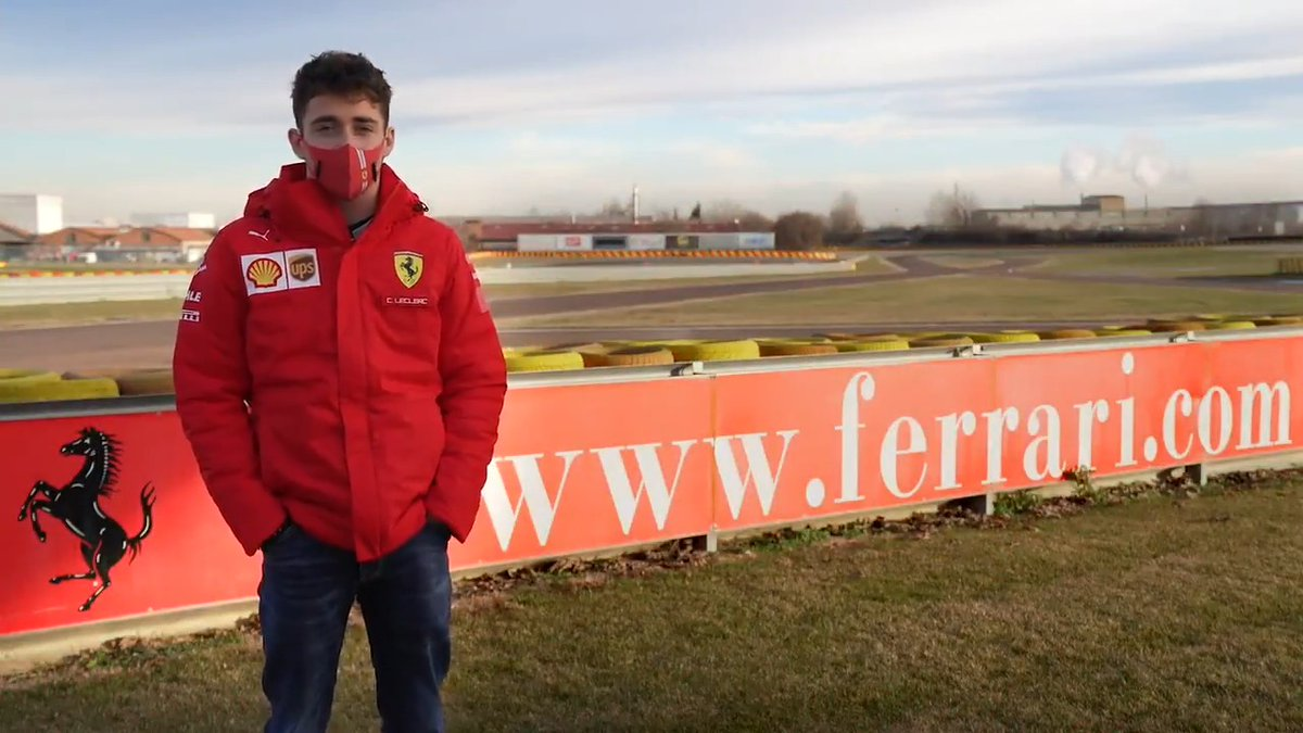 Image for the Tweet beginning: .@Charles_Leclerc's thoughts of his first