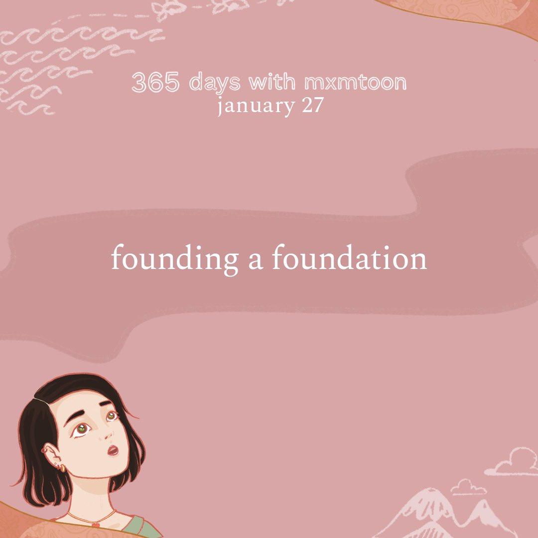 january 27: founding a foundation  @mxmtoon @NatGeo